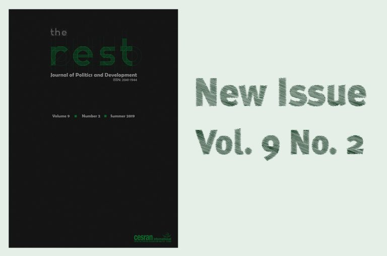 THE 18TH ISSUE OF THE REST: JOURNAL OF POLITICS AND DEVELOPMENT IS OUT NOW.
